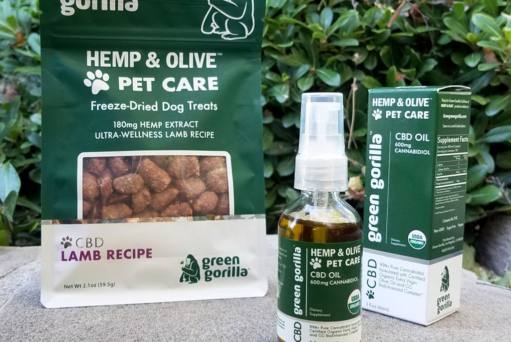 Green Gorilla Appoints United Pacific Pet, LLC its Southwestern Distributor of CBD Pet Products