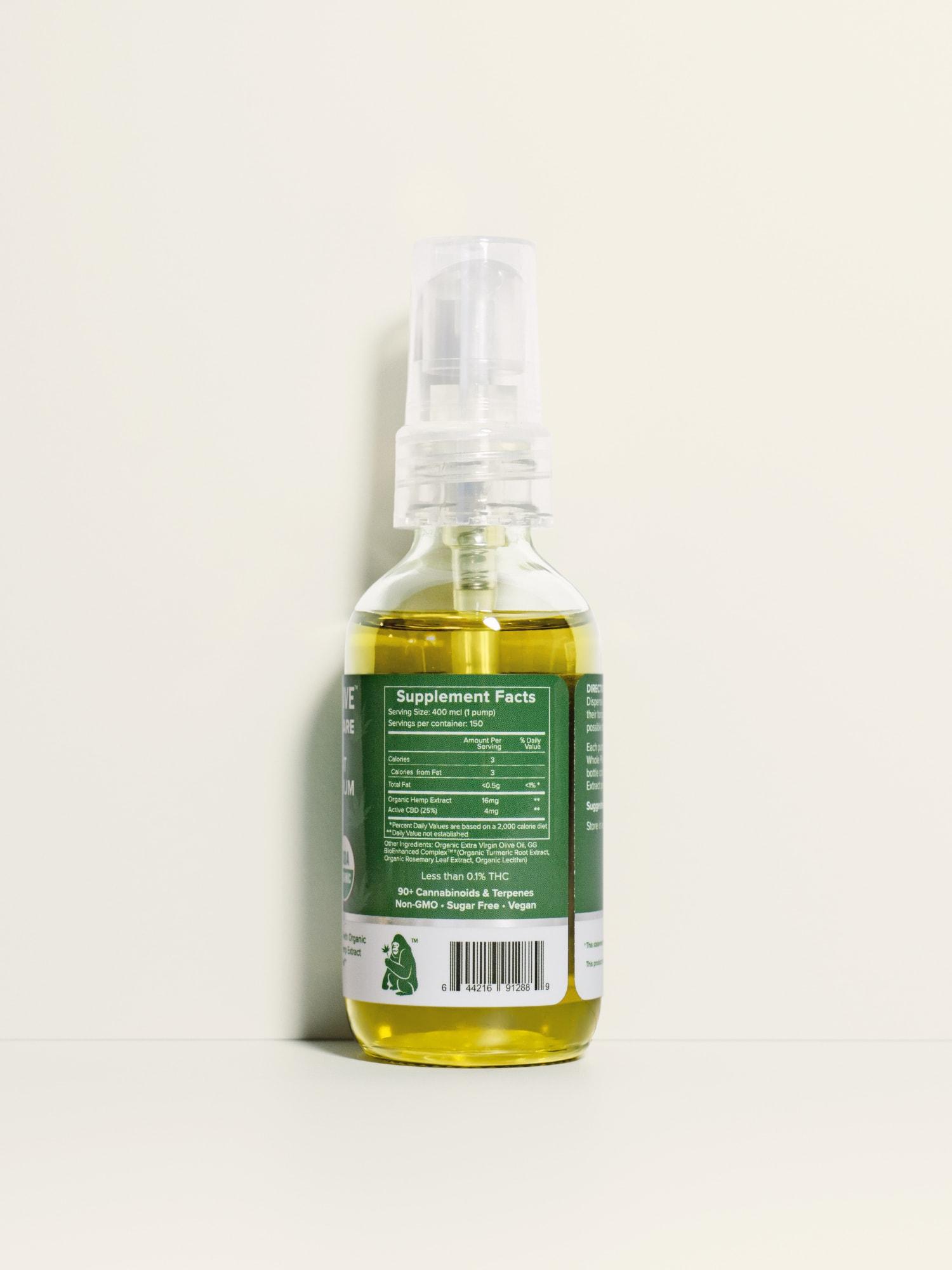 Buy USDA Certified Organic Full Spectrum CBD Oil from Hemp Extract for Horses - 2400 mg