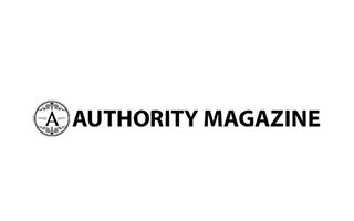 Authority Magazine card logo