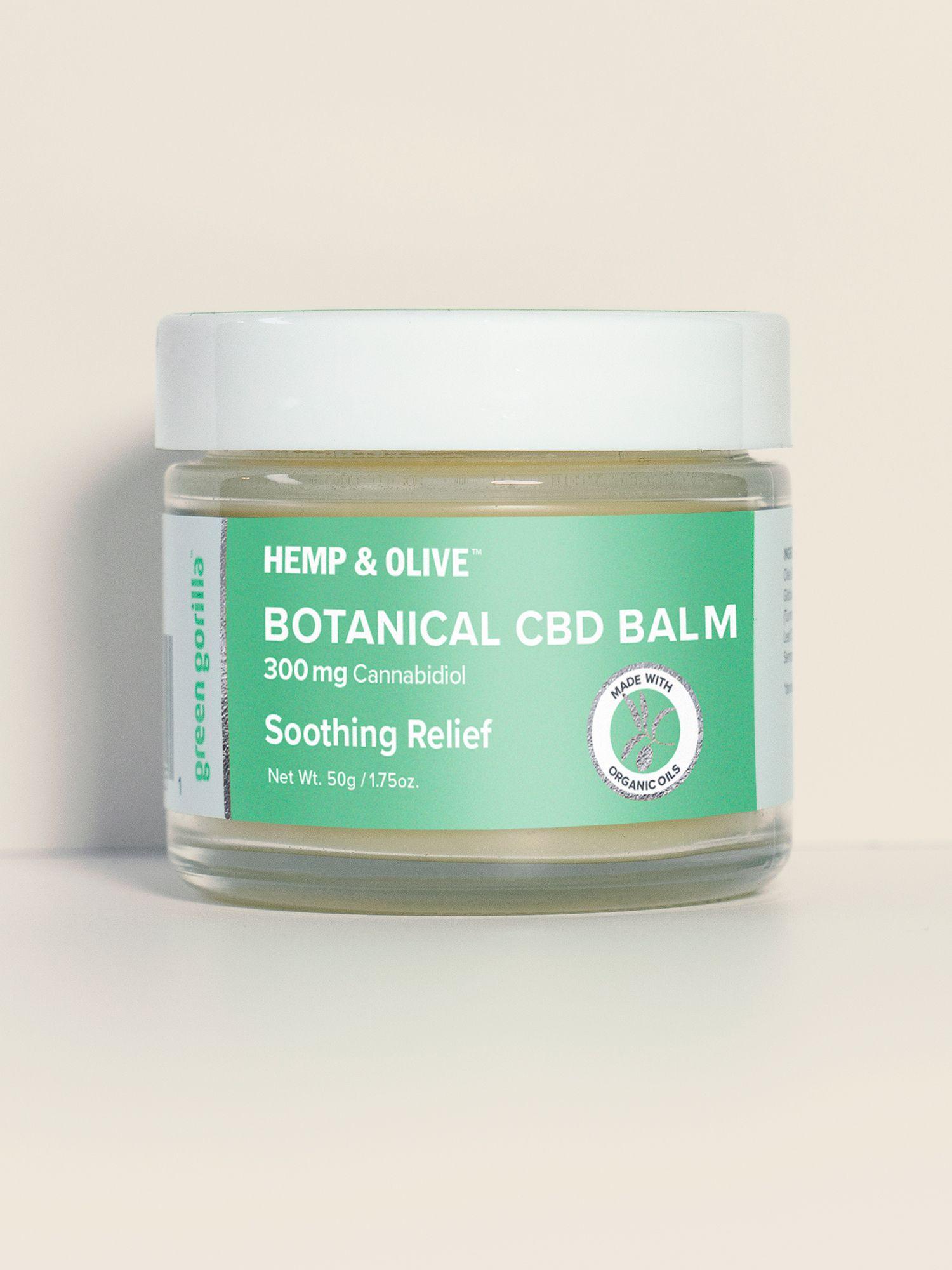 Botanical CBD Balm Intensive Relief - 750mg | Green Gorilla