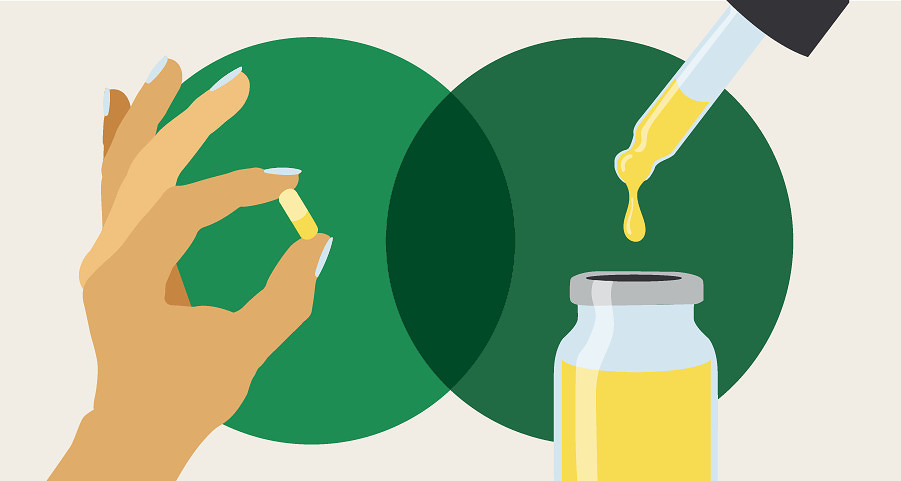 CBD Capsules vs. Oils: What's the Difference?
