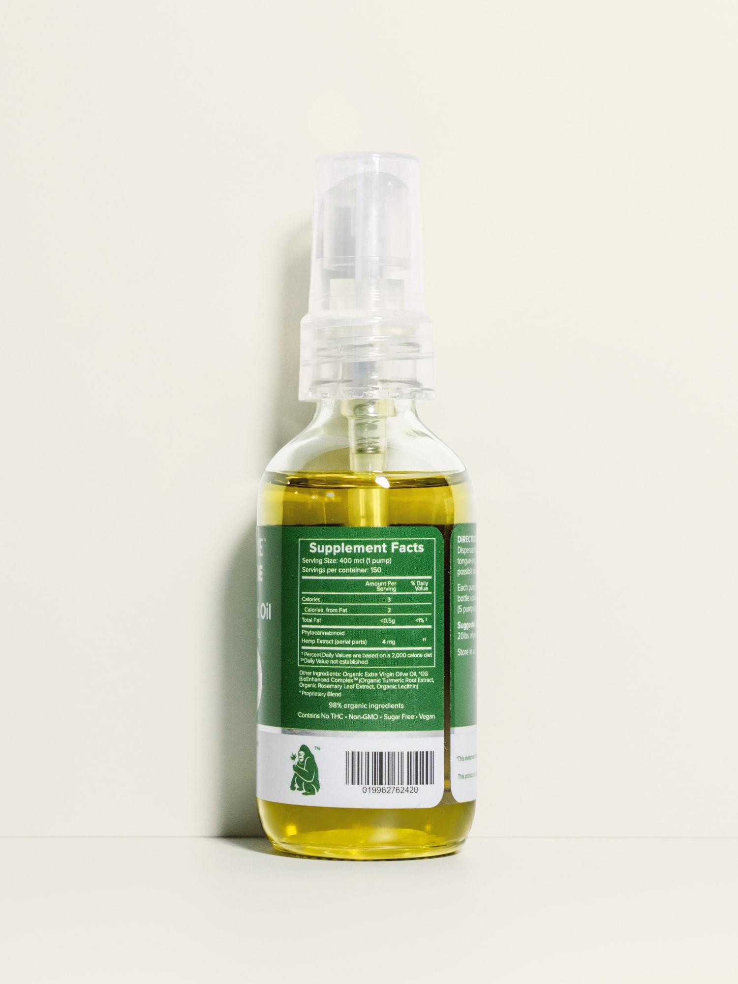 Pure CBD Oil for Pets Hemp Infused 600 mg