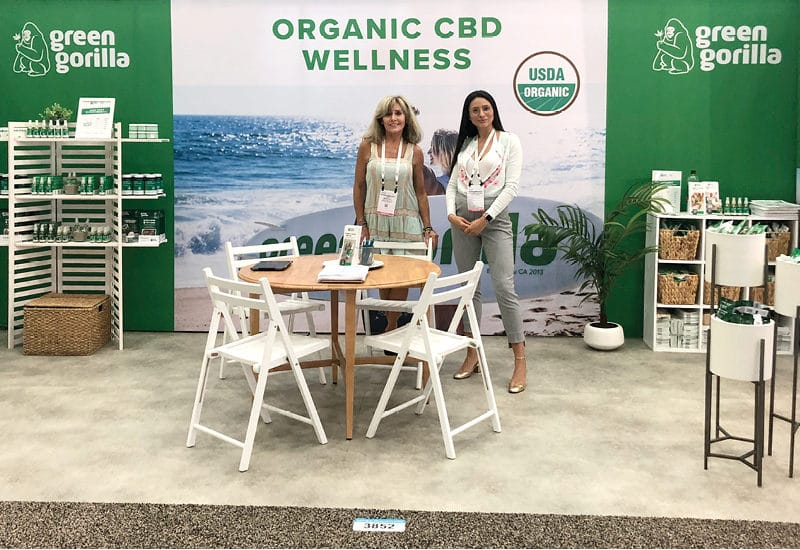 Green Gorilla will be showcasing their USDA certified organic CBD products at Natural Products Expo East