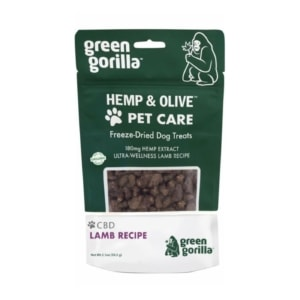Freeze-Dried CBD Dog Treats - 180 mg
