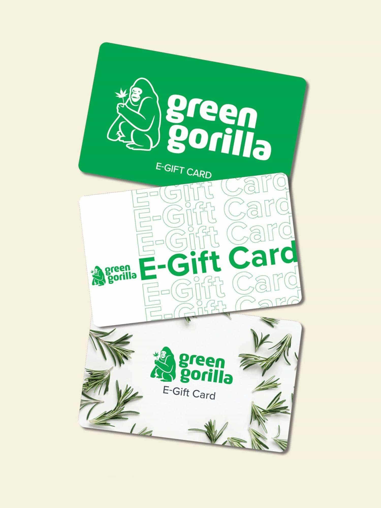 Green Gorilla Premium CBD E-Gift Card