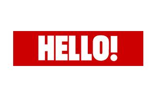 Hello card Logo