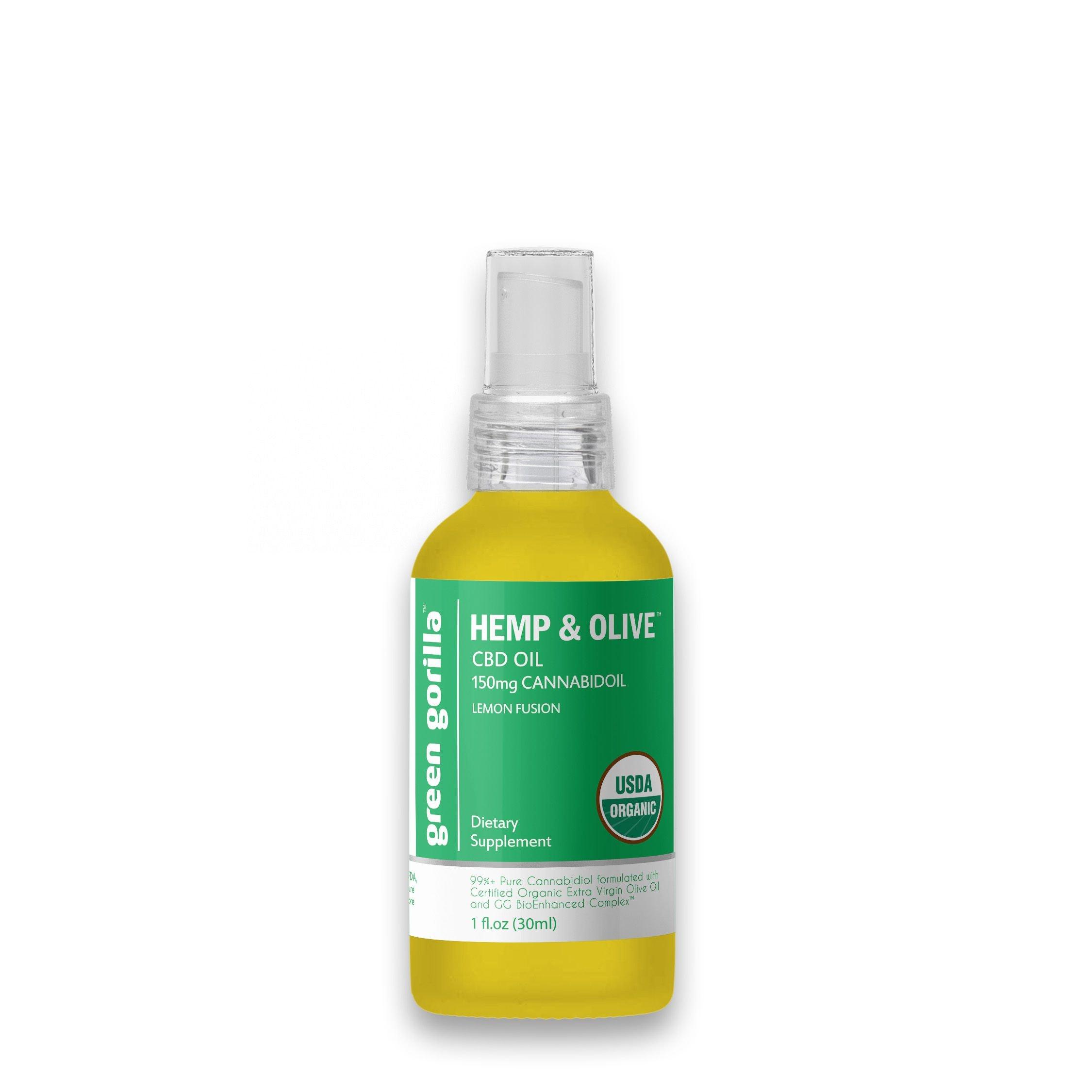 Pure CBD Oil - 150 mg (Lemon Flavor)