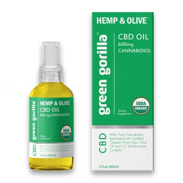 Pure CBD Oil - 600 mg