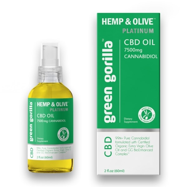 Pure CBD Oil 7500 mg